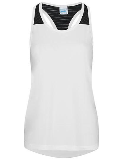 JC027 Just Cool Girlie Cool Smooth Workout Vest